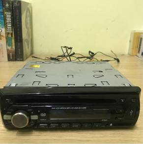 Radio digital with DVD player