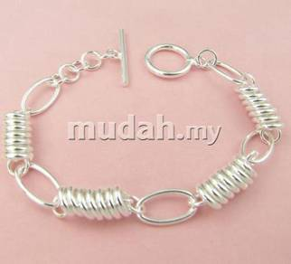 ABBS9-S005 Vogue Silver 925 Bracelet 205 x 8mm