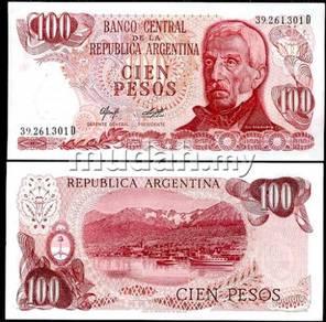 Argentina 100 pesos nd 1976-1978 p 302 unc