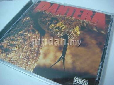 Pantera THE GREAT SOUTHERN TRENDKILL 1996 CD