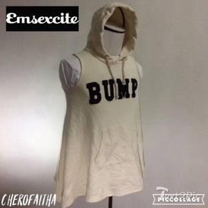 Emsexcite Japan sleeveless pregnant hoodie jacket