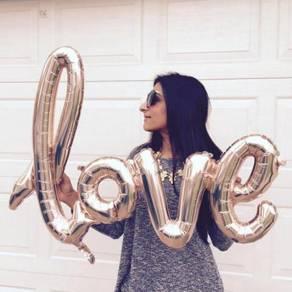 Foil love- big size
