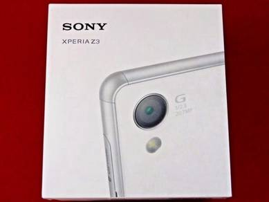 New Sony Xperia Z3 32GB Space Gray 4G LTE