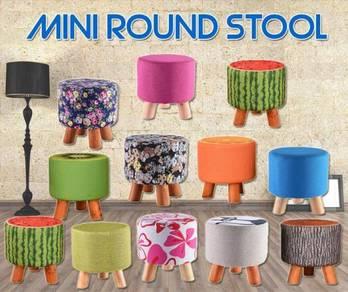 Mini round stool