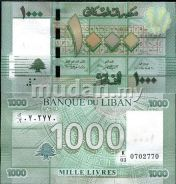 Lebanon 1000 lives 2011 p new unc
