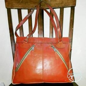 Shoulder Bag Leather Unbrand