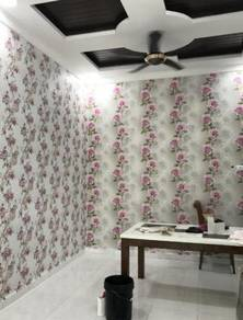 Wall paper with Installation for your Home