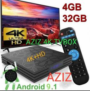 Android tv box 4k+ HD complete TV BOX preloaded