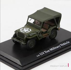 Willys Jeep 1/4 Ton Military Soft Top Vehicle