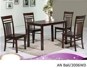 Dinning set 4 seater / meja makan 4 orang solid