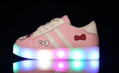 Hello Kitty Shoes with LED Light 88-1