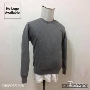 Baju No Brand plain sweater shirt pullover
