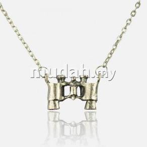 ABPSM-T001 Silver Metal Telescope Necklace Pendant