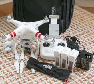 DJI Phantom 3 Standard Drone Quadcopter complete W