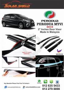 Perodua Myvi 2018 Mugen Door Visor New Model