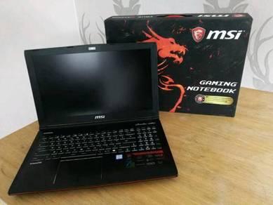 MSI Gaming Laptop GE62VR 7RF