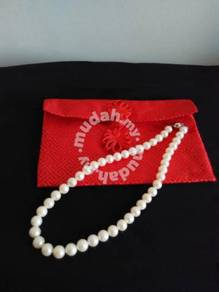 Genuine fresh water pearls necklace