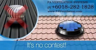 E19-HB FA Solar Powered Roof Ventilator Germany