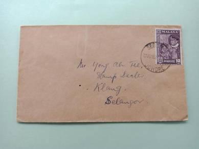 Cover SEGAMAT Johore 1962 No 12