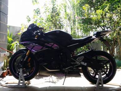Yamaha YZF R6 US spec - service on time