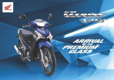 Year 2021 Honda Wave 125i(2 DISC) Promosi Hebat !
