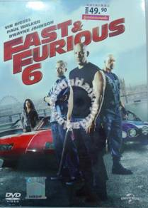 DVD MOVIE Fast And Furious 6
