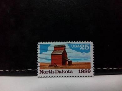 1989 USA Stamp, Grain Elevator