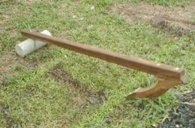 Sauh kayu 60 inci