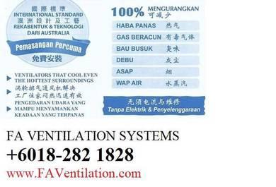 19D-TR FA Ceiling Air Vent / Exhaust Fan