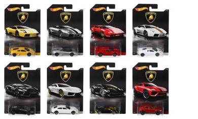 Hot Wheels HW Lamborghini Sets of 8 Collector Ed