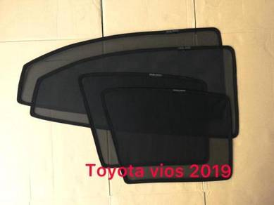 Toyota vios 2019 sun shade with magnet 4 pcs