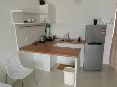 Zeva Residence Studio 454sf, CORNER LOT Fully Furnished