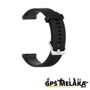 Silicone Band Strap Garmin Vivoactive 4S Black 18m