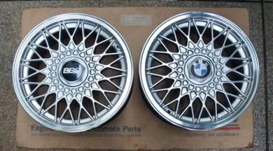 BMW E30 Rims Orig F.P.S like BBS 7J x 15, TWO RIMS