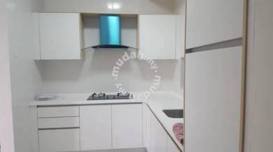 Partially Furnished The Armanna KU Suites Kota Kemuning For Rent