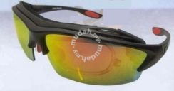 Sports Sunglasses with Changeable Polorized Lens