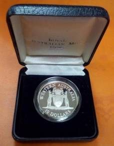 1990 10 Royal Australian Mint Proof Coin