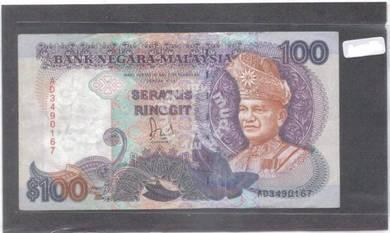 Malaysia RM100 6th series Dato Jaafar