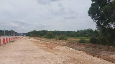 IJOK 1 acres Agriculture Land ( Zone Industrial ) Facing Mainroad