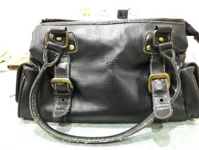 GMX genuine leather handbag