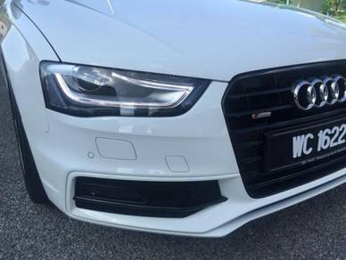 Audi A4 b9 facelift light bar head lamp