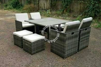 Good friday Boom sale Big sale Rattan 1+8 Set