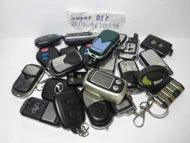 Pelbagai2 keyfob kunci kereta utk dijual
