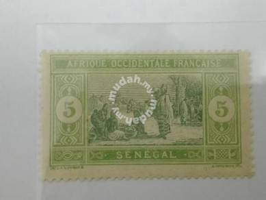 (RB 086) 1914 Senegal 5c Stamp