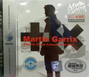 IMPORTED CD Martin Garrix Electric Divine Comedy S
