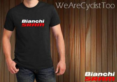 Tshirt Baju BIANCHI SRAM TSV Siap Pos Laju
