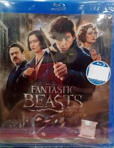 Blu-ray Fantastic Beasts And Where To Find Them