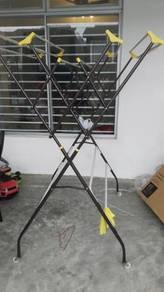 3V Steel Folding Cloth Hanger TM218
