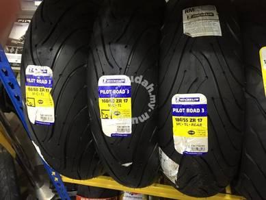 MICHELIN PILOT ROAD 3 Tyre Superbike Ready Stocks