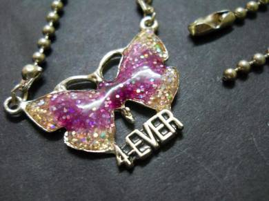 N093 Vintage Butterfly Necklace